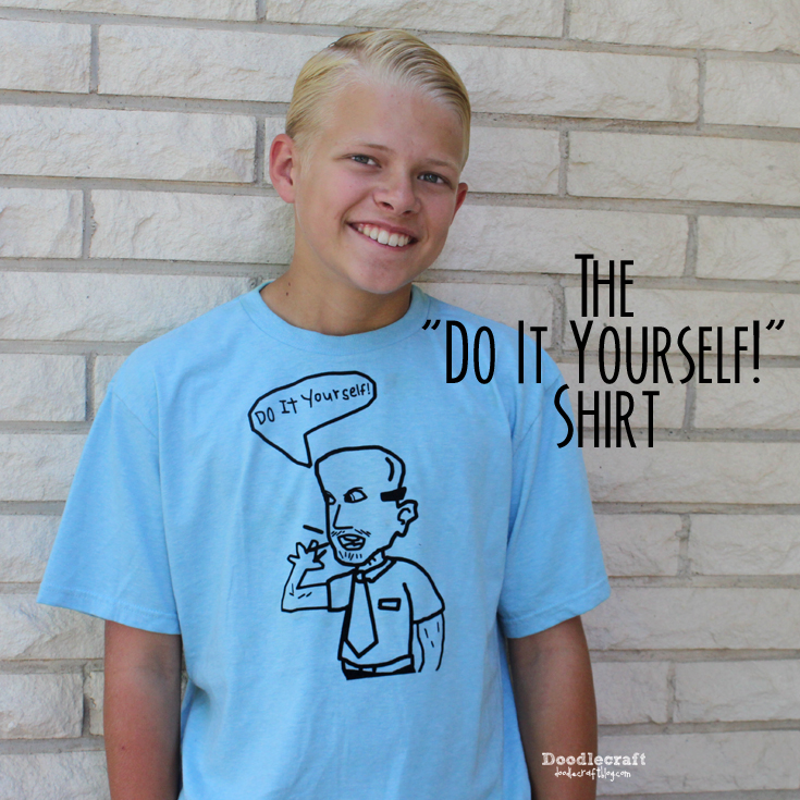 Doodlecraft the do it yourself diy shirt the do it yourself diy shirt solutioingenieria Images