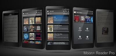 Moon + Reader Pro Apk Gratis (Lector de libros electrónicos Android)