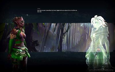 Guild Wars 2 - пример подачи сюжета