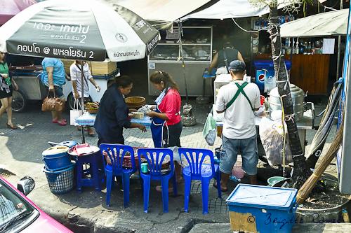 Bangkok vie quotidienne