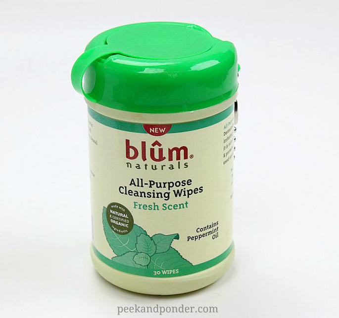 Blum Naturals All-purpose wipes