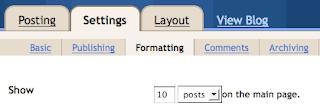 cara melajukan loading blog