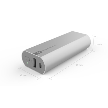 Gp Portable Powerbank Fn05m Dimensions