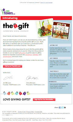 Click to view this Nov. 22, 2011 TheGift email full-sized