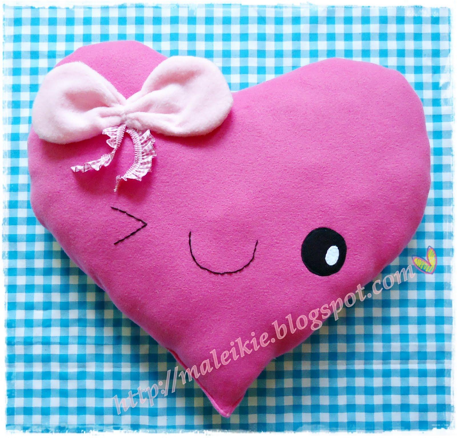 Cute Pillow Crafts : Chunkylicious Kawaii crafts : cute craft: sweetheart pillow