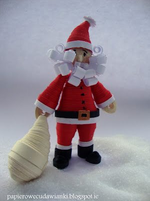 quilling-zdoby świąteczne