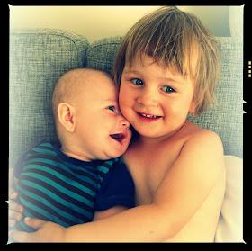 Trine og Gustav
