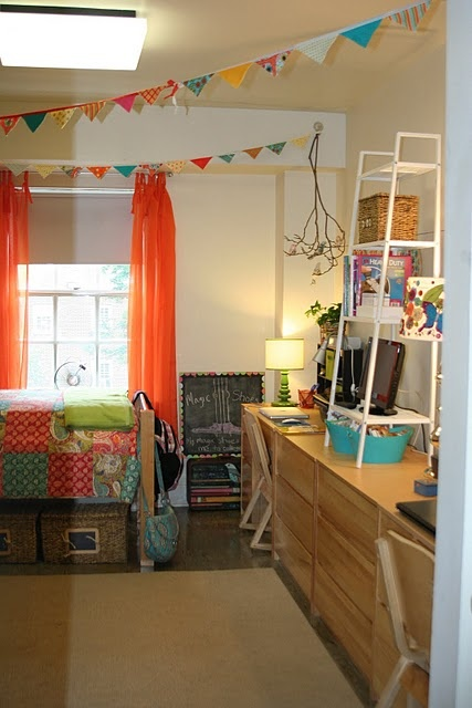 Decorating Ideas > Thirty Seventh Avenue From Drab & Dreary To Bright And  ~ 203424_Dorm Room Design Tool