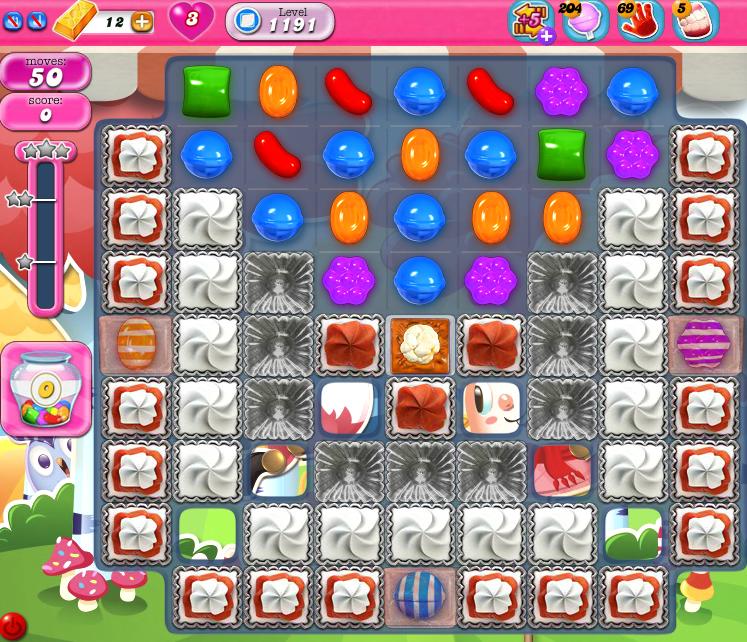 Candy Crush Saga 1191