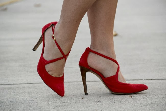 Karenza Red Pumps from Sole Society