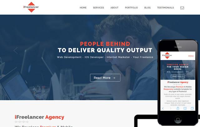 iFreelancer personal portfolio