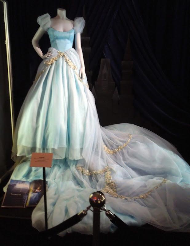 Scarlett Johansson Cinderella gown