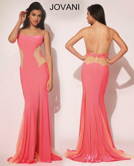 Секси бална рокля с гол гръб Jovani 2014