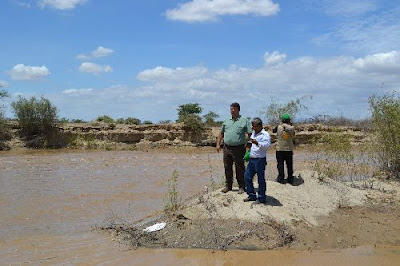 Río La Leche amenaza huaca El Oro, en el santuario histórico Bosque de Pómac, en Lambayeque.