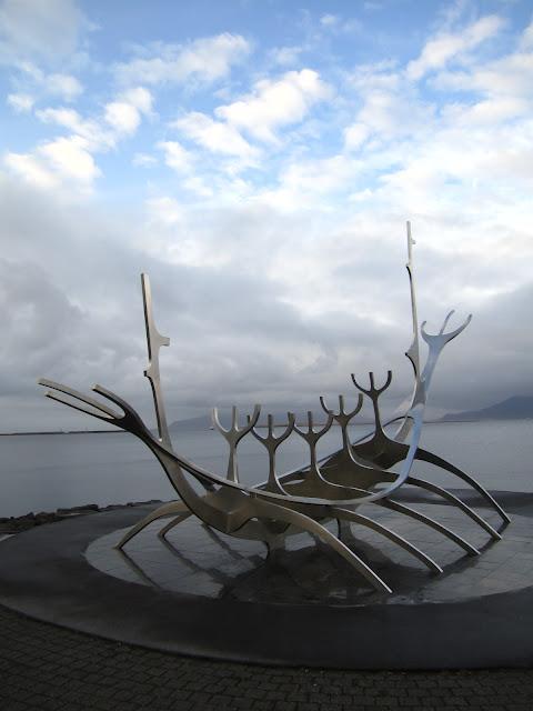 Sun Voyager by Jon Gunnar Arnason in Reykjavik, Iceland.