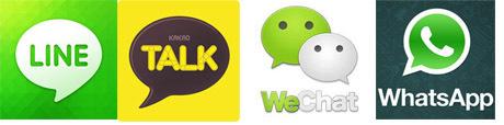 Sebut saja KakaoTalk, Line, WeChat, hingga yang sudah lebih dulu ...