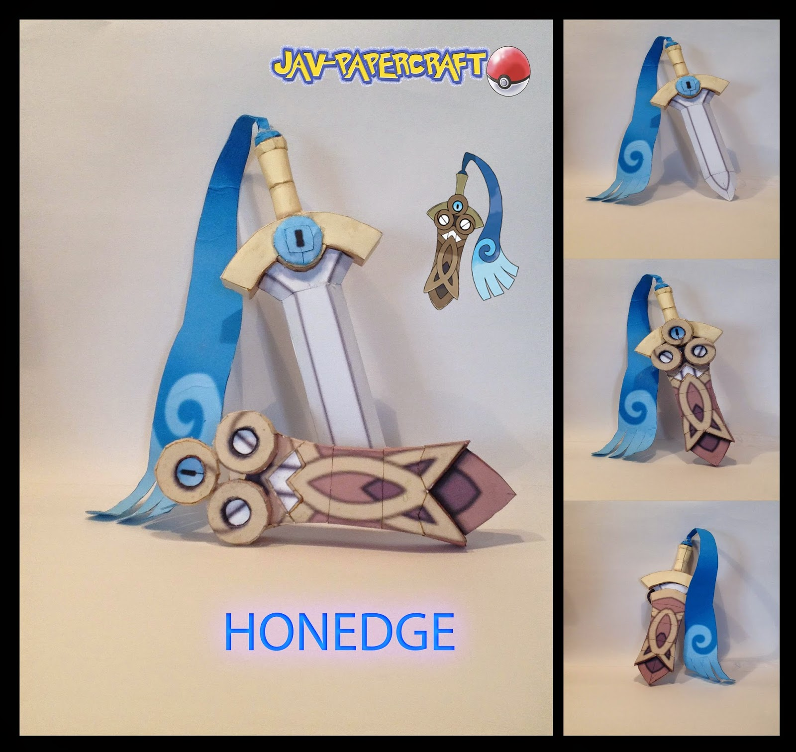 Pokemon Honedge Papercraft