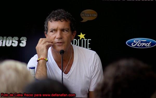 """Antonio Banderas en la presentación de """"Los Mercenarios"""" en Marbella"""