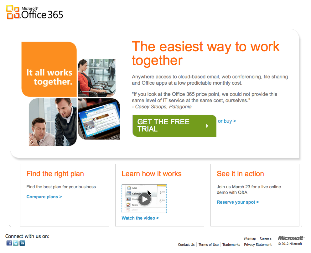 Microsoft's Office 365 - You can try it out for free | TeacherLINK ...
