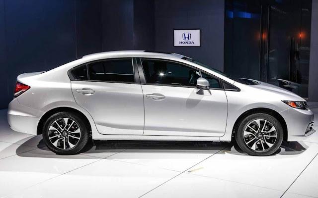 Novo Honda Civic 2013 2014 reestilizado no Brasil
