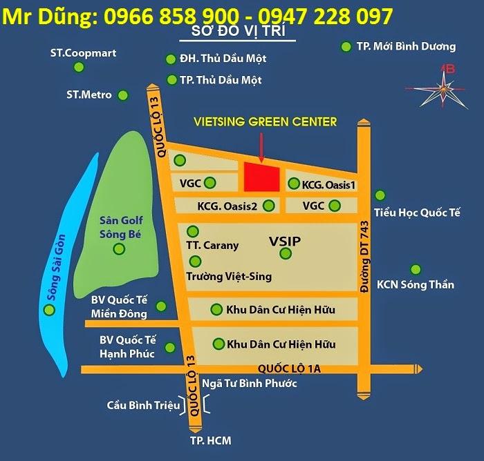 Bán đất nền dự án tại Khu đô thị Việt - Sing The Oasis ảnh 5
