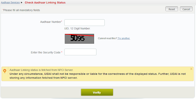 http://aadhaarcorrection.blogspot.in/2015/11/check-aadhaar-linking-status-with-bank.html