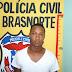 Policia Civil de Brasnorte prende mais um traficante