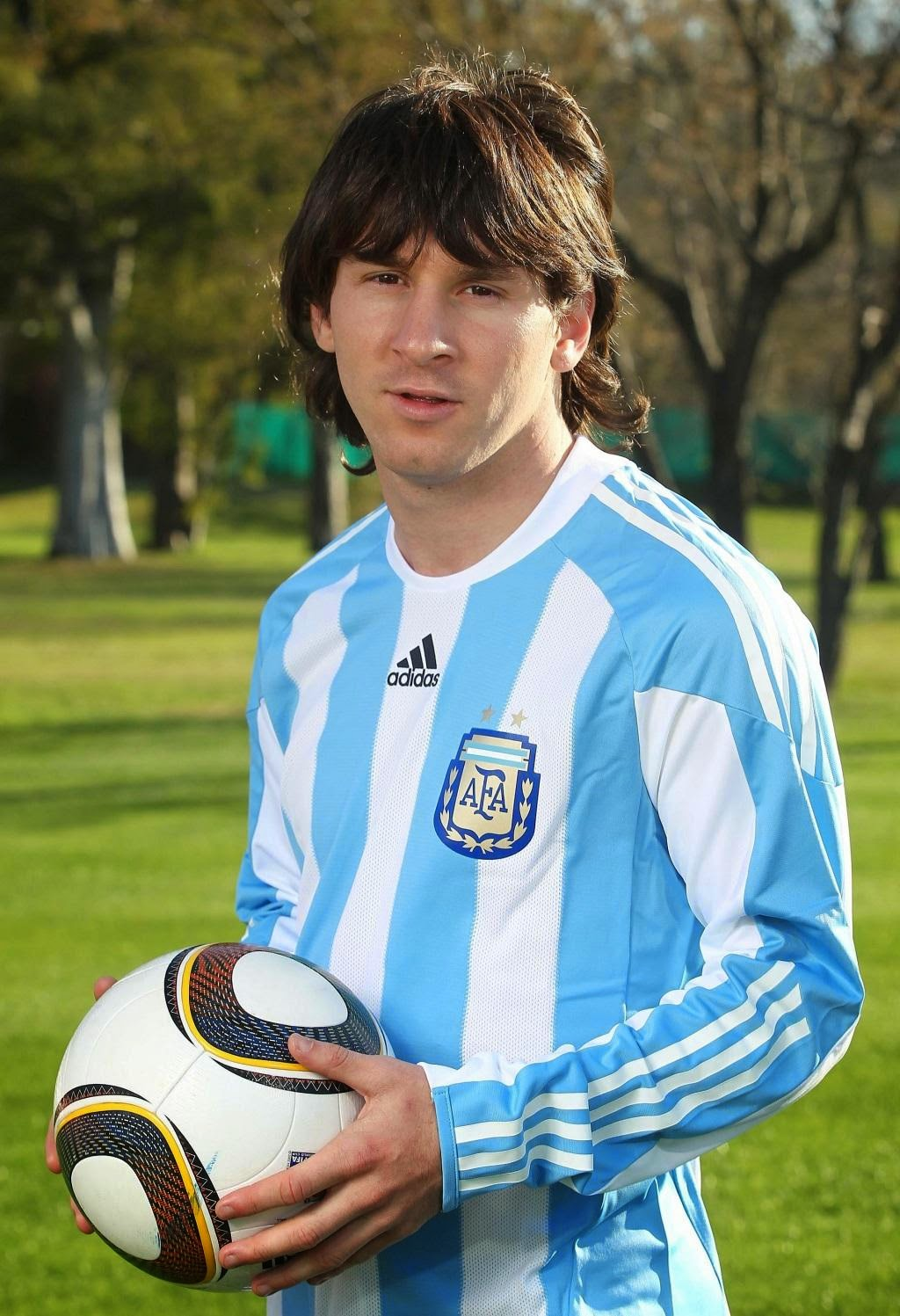 Lionel Messi Long Hairstyles