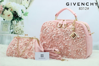 Tas KW Givenchy Boxed Flower 2in1 Semprem 8312AR Jakarta