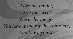Tender Love Quotes, part 1