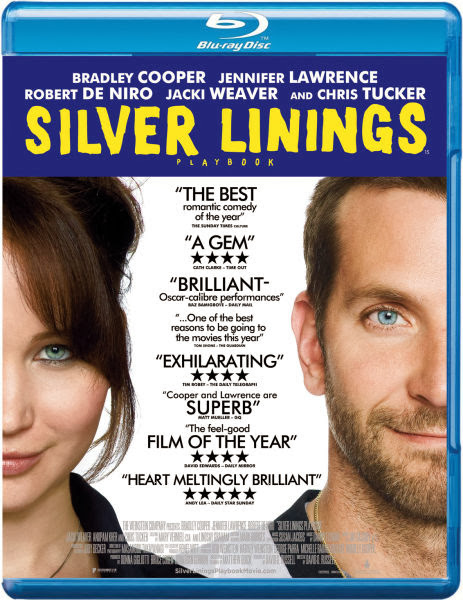 Poster Of Silver Linings Playbook 2012 English 350MB BRRip 480p Free Download Watch Online