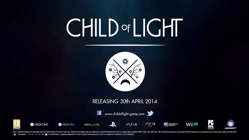 Child Of Light Gets An April Release Date - weknowgamers