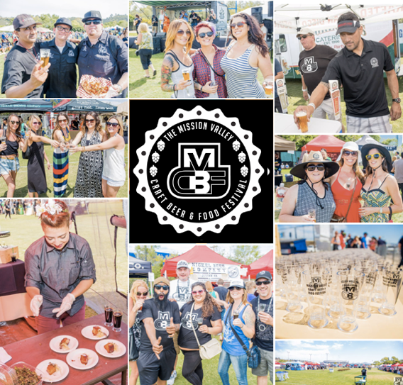 Save on passes & Enter to win VIP tickets to the Mission Valley Craft Beer & Food Fest - April 15!