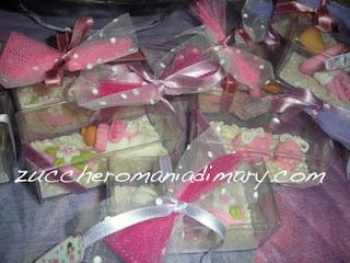 pasta di zucchero confetti decorati bomboniere