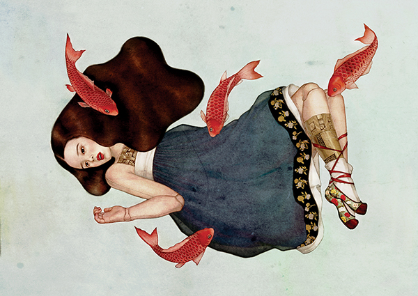 ©Dani SOON - Dolly Girls. Ilustración | Illustration