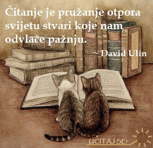 Čitanje je...