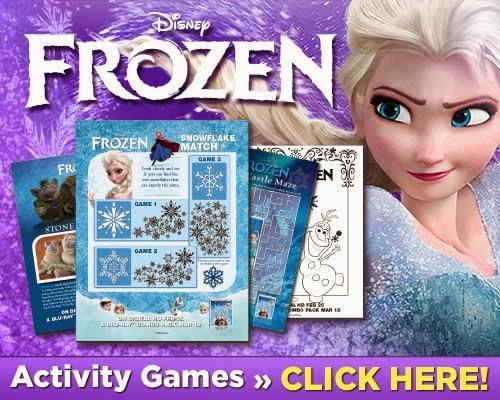 Frozen: Genial Libro de Actividades para Imprimir Gratis.