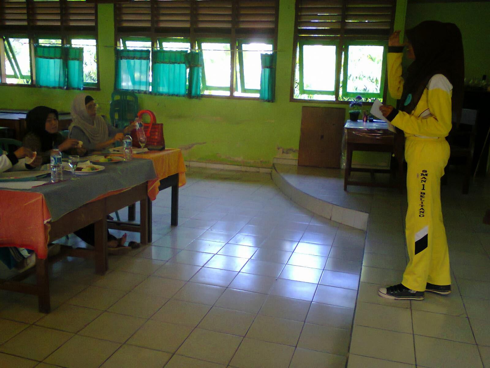 Berikut adalah foto-foto kegiatan Bulan Bahasa di SMAN 1 Belitang