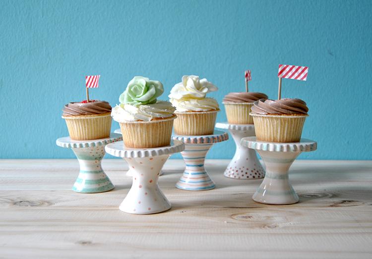 soportes cupcakes barruntando