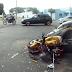 Acidente envolvendo ônibus e motos deixa feridos na Parangaba