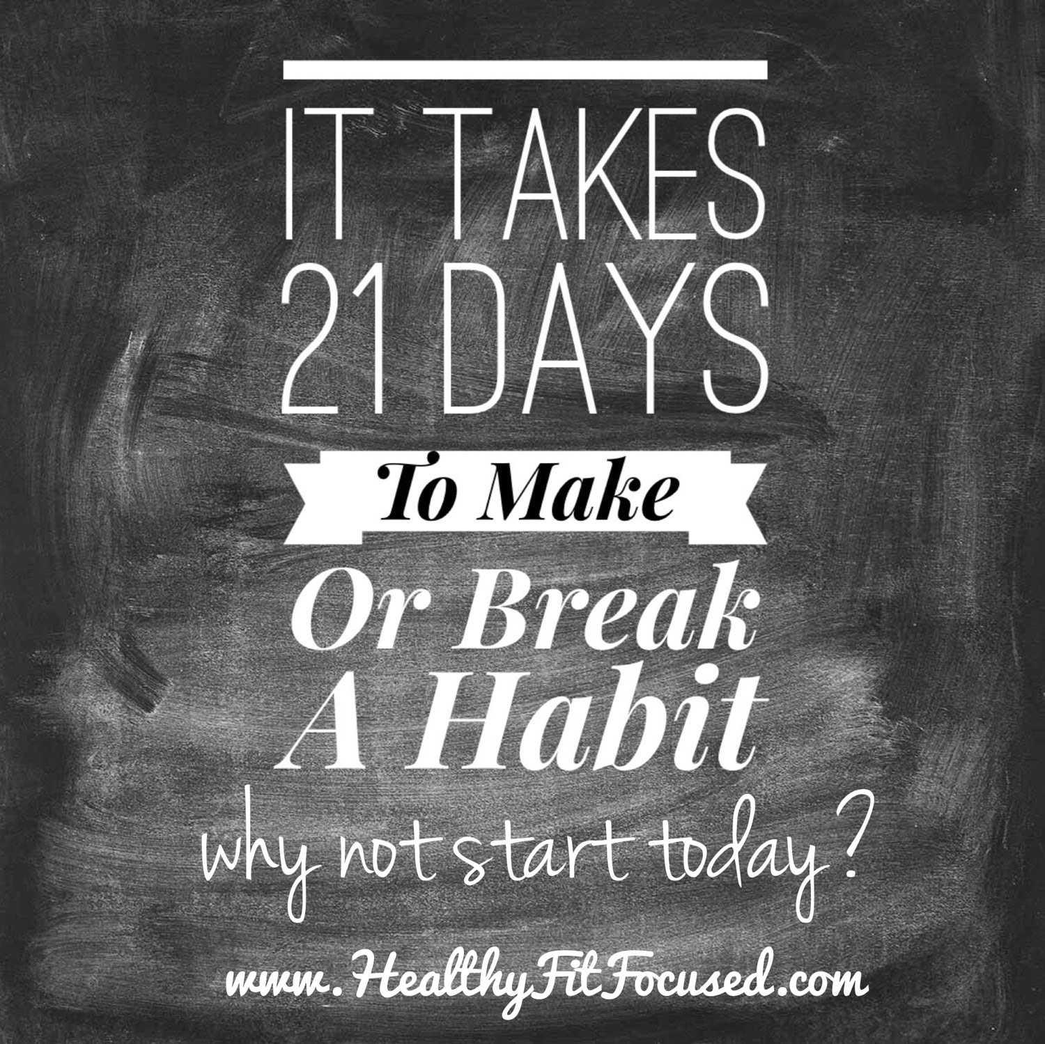 21 Day Fix, 21 days to make or break a habit