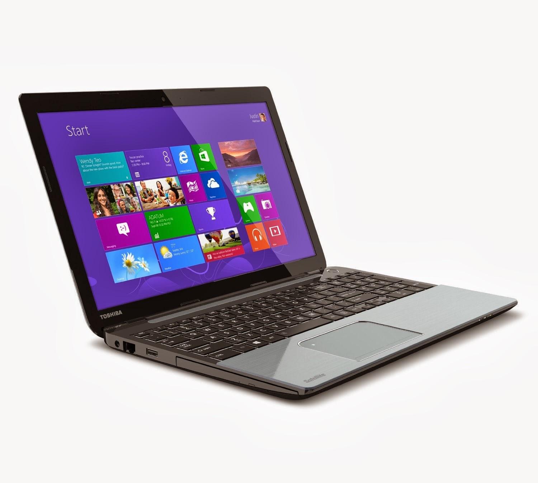 Toshiba Satellite Laptop Windows 8