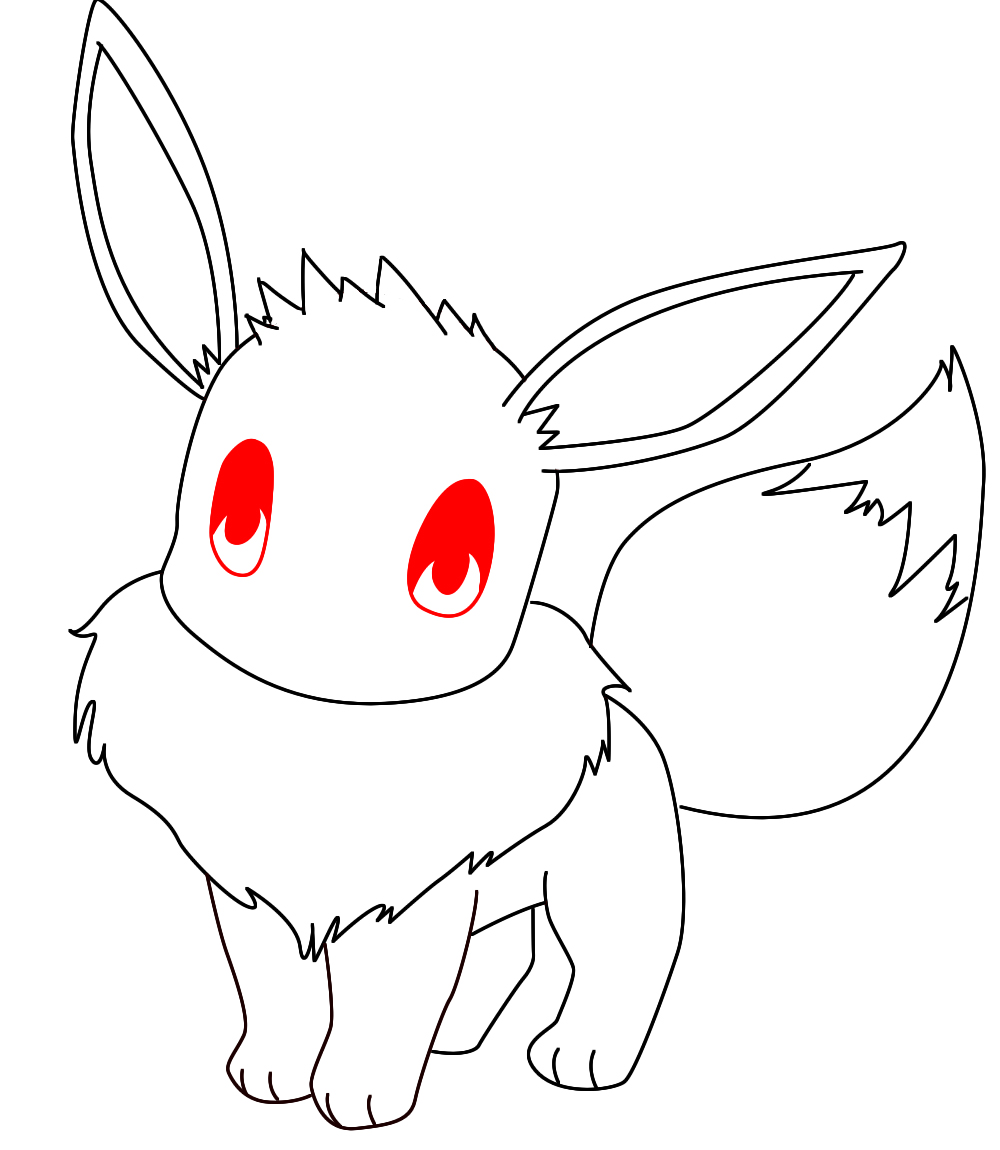 how to draw pokemon trainers eyes