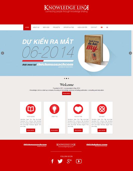 Thiết kế website bằng worpdress