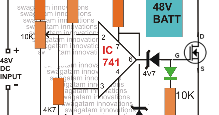 20amps Battery Charger Cct Diagram