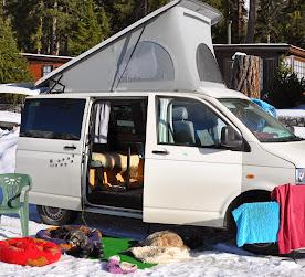 Unterwegs mit dem Campingbüssli