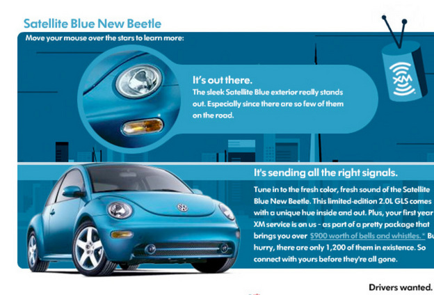 Erica S Pre Loved 2004 Satelite Blue Beetle For Sale