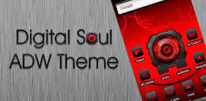 ADW Theme - Digital Soul 3.5 Apk Download