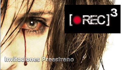 Invitaciones preestreno Rec 3 Génesis eventos gratis
