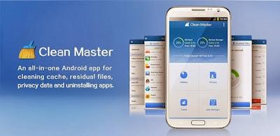 تحميل برنامج كلين ماستر لتسريع أجهزة الأندرويد Download Clean Master App